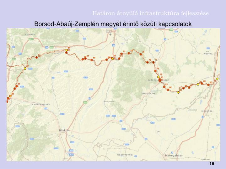 Határon átnyúló infrastruktúra fejlesztése