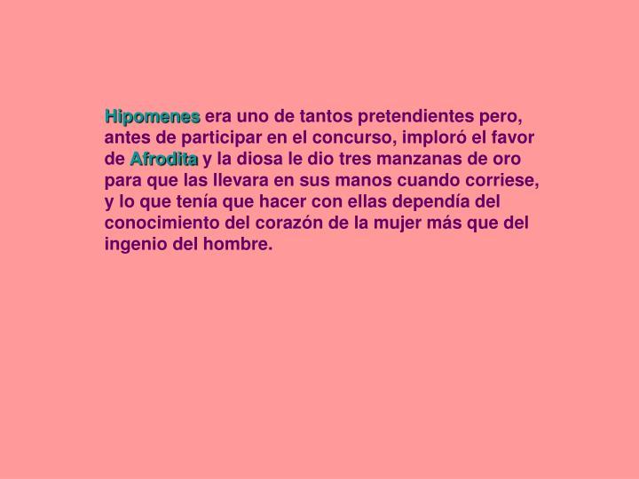 Hipomenes