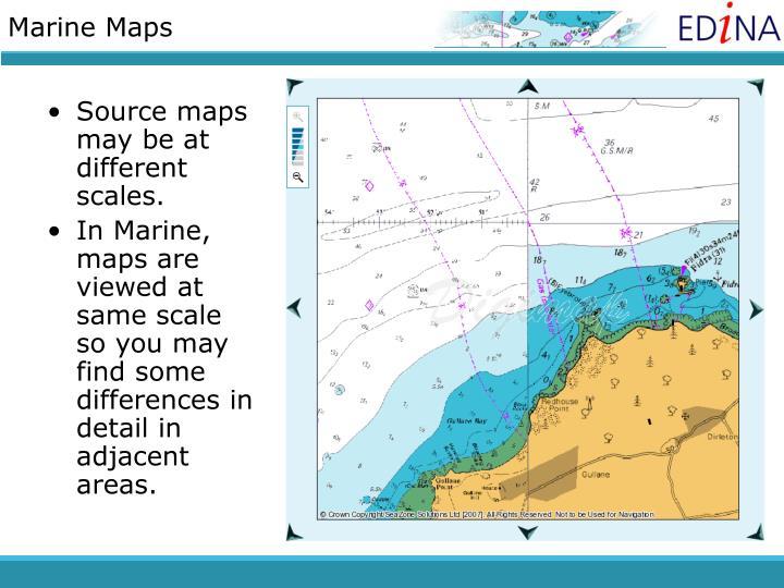 Marine Maps