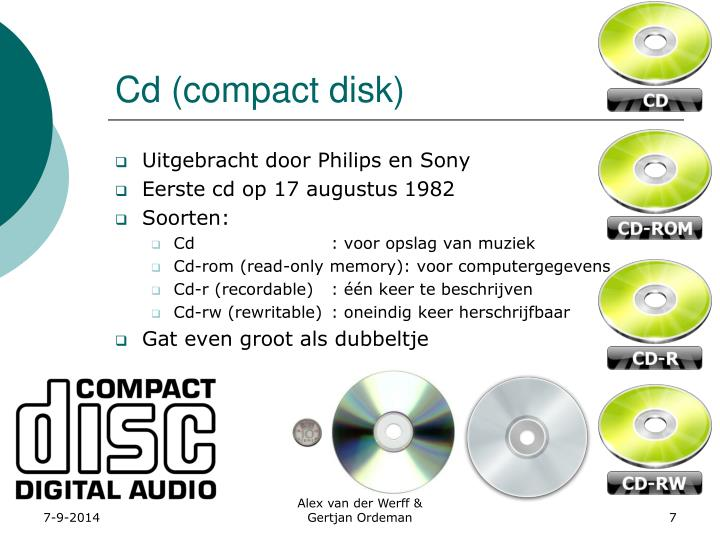 Cd (compact disk)