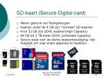 sd kaart secure digital card