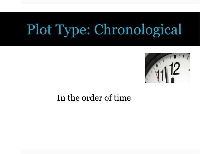 Plot Type: Chronological