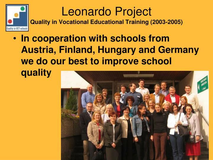 Leonardo Project