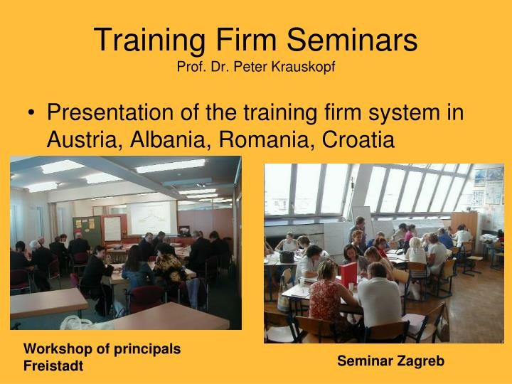 Training Firm Seminars