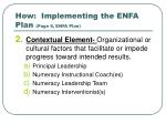 how implementing the enfa plan page 6 enfa plan1