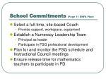 school commitments page 11 enfa plan