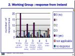 2 working group response from ireland