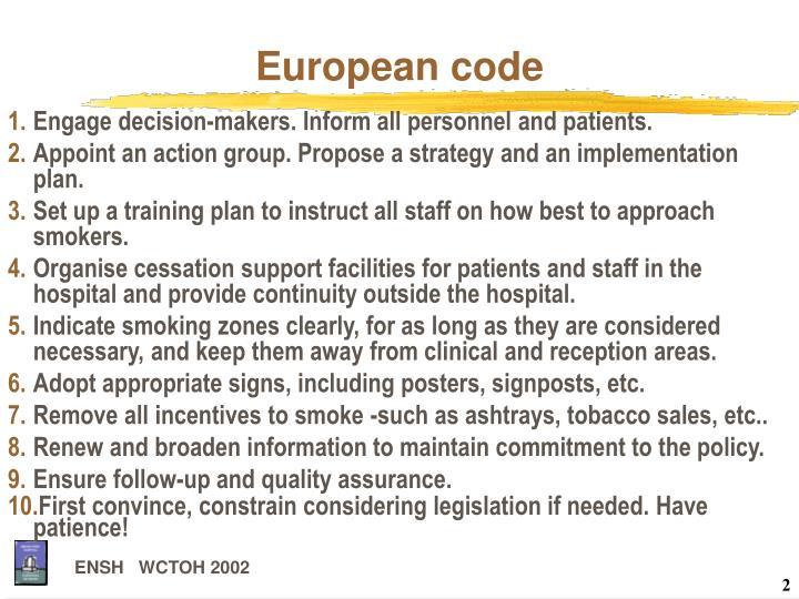 European code