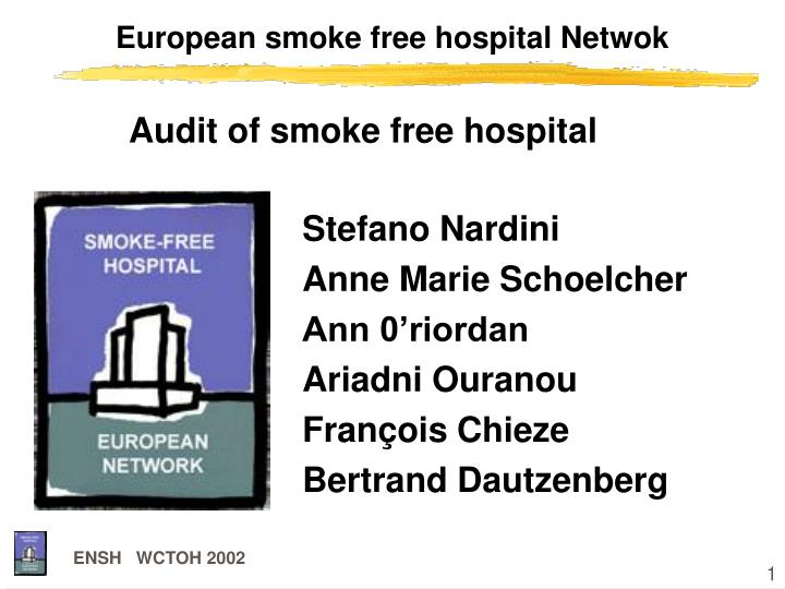 European smoke free hospital netwok