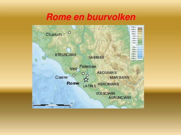 Rome en buurvolken