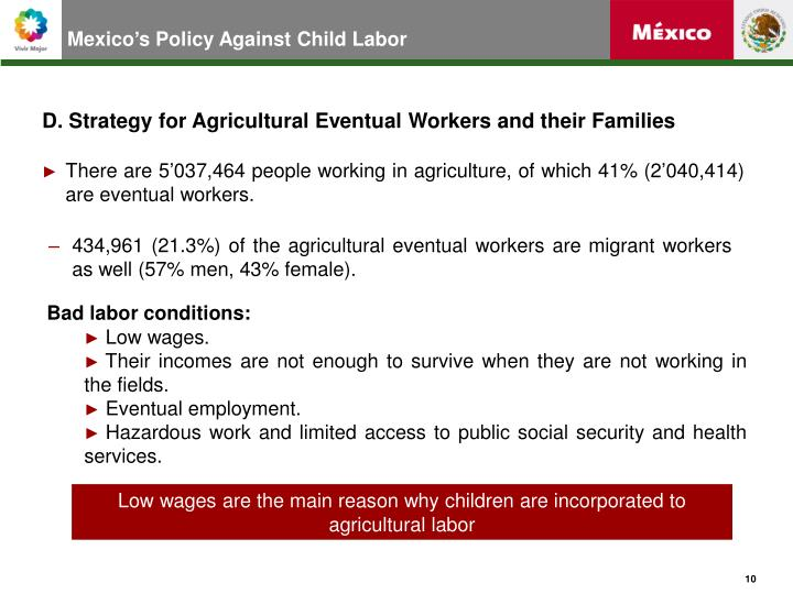 Mexico's Policy Against Child Labor