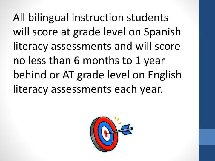 All bilingual