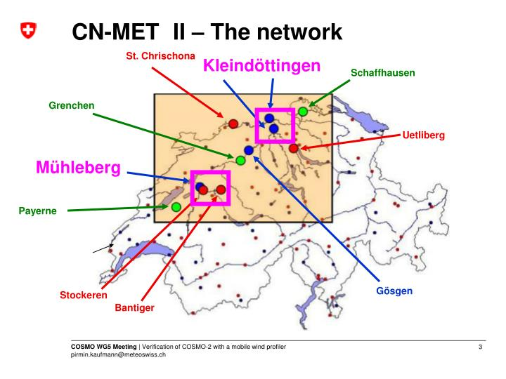Cn met ii the network