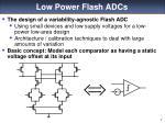 low power flash adcs
