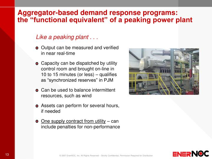 Aggregator-based demand response programs: