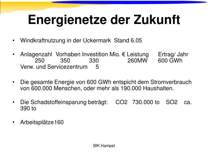 Energienetze der Zukunft
