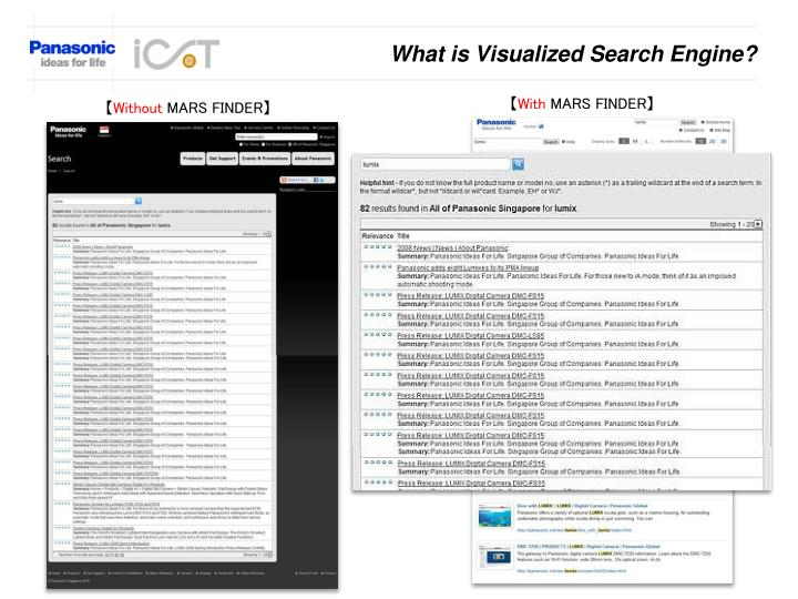 What is Visualized Search Engine?