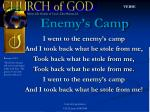 enemy s camp