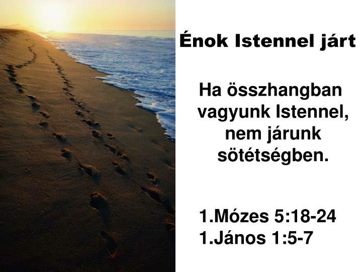 Énok Istennel járt