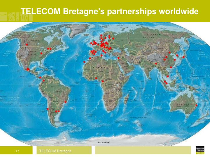 TELECOM Bretagne's partnerships worldwide