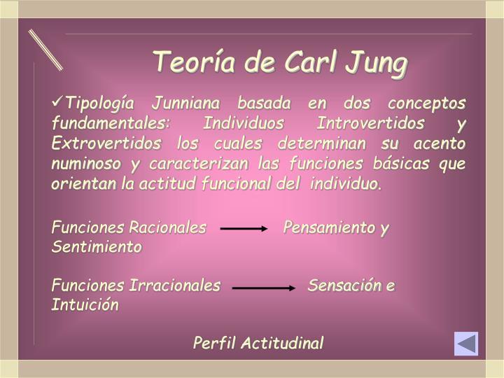 Teoría de Carl Jung