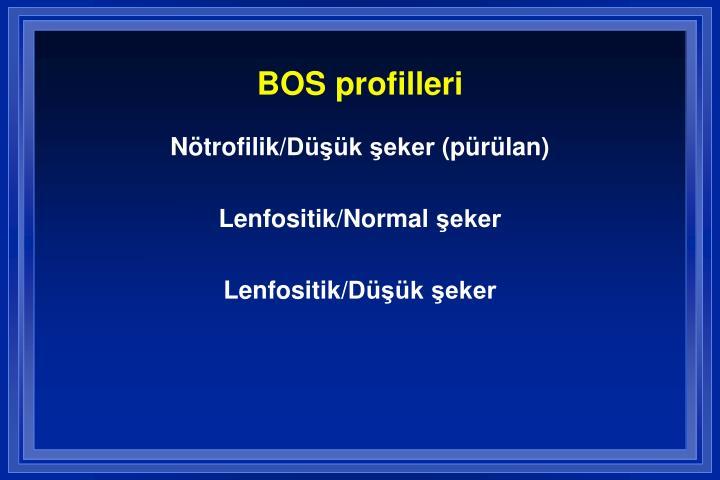 BOS profilleri