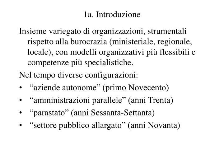1a. Introduzione