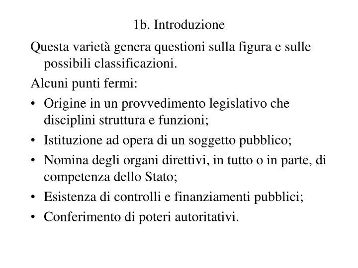 1b. Introduzione