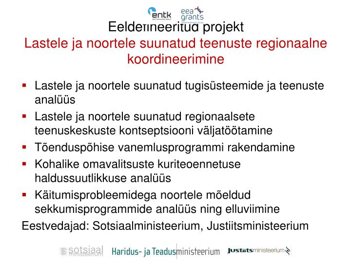 Eeldefineeritud projekt