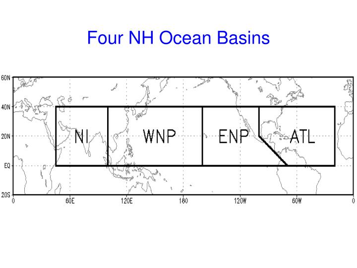 Four NH Ocean Basins