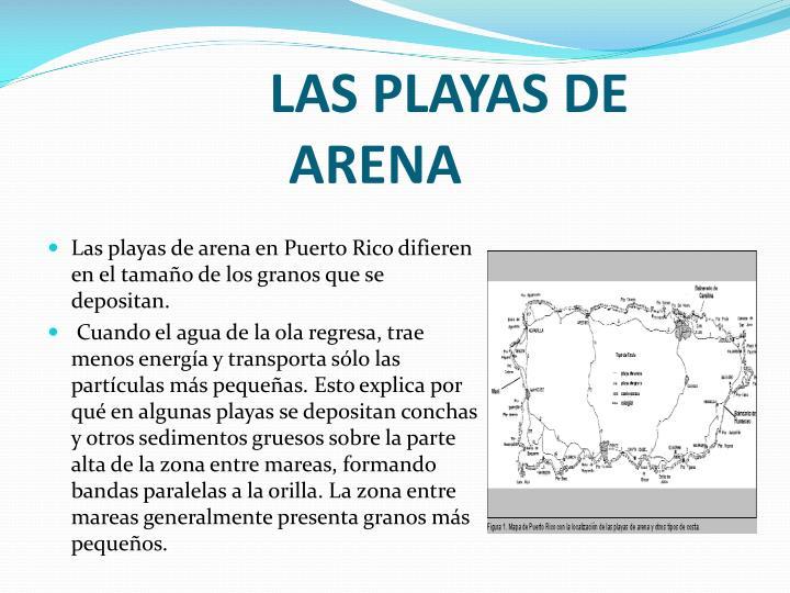 LAS PLAYAS DE ARENA