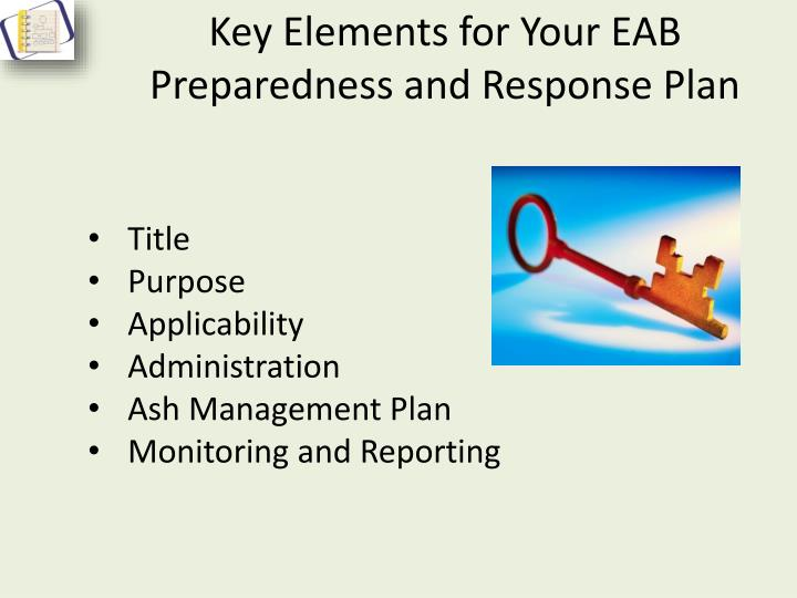 Key Elements for Your EAB Preparedness and Response Plan
