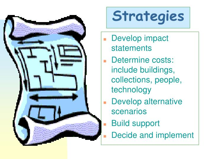Develop impact statements