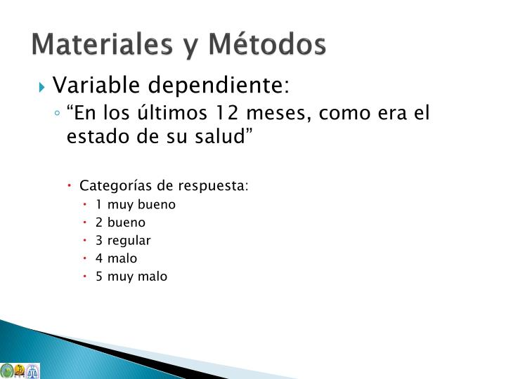 Variable dependiente:
