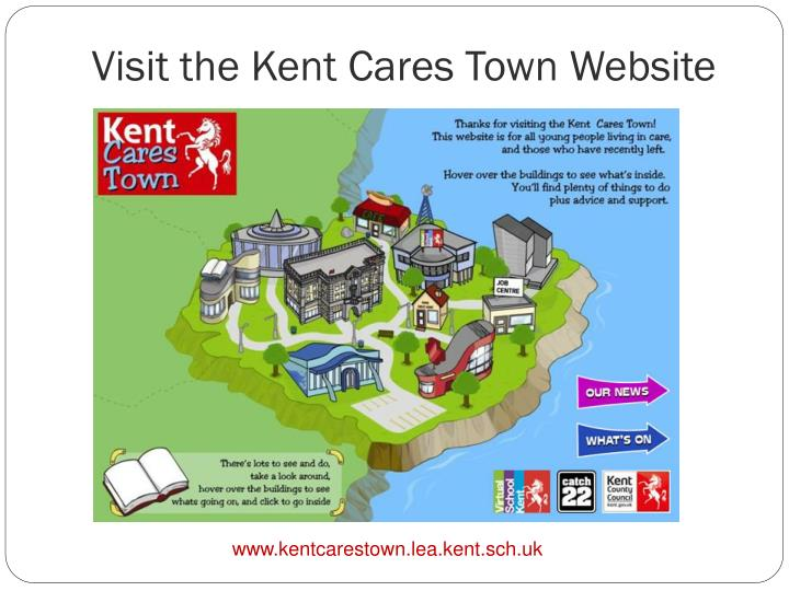 Visit the Kent Cares Town Website