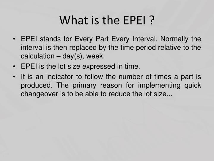 What is the epei