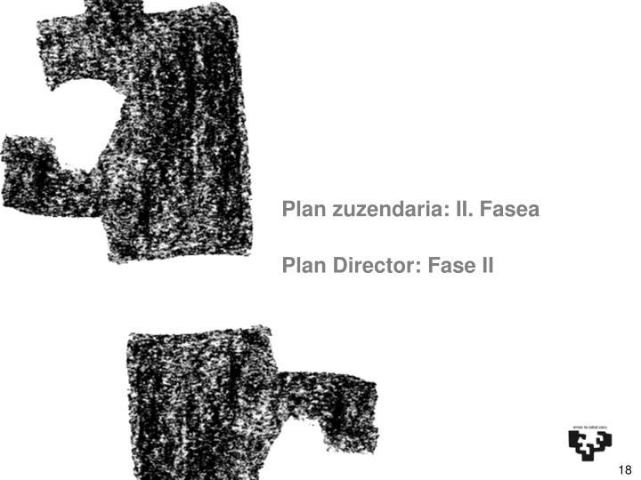 Plan zuzendaria: II. Fasea