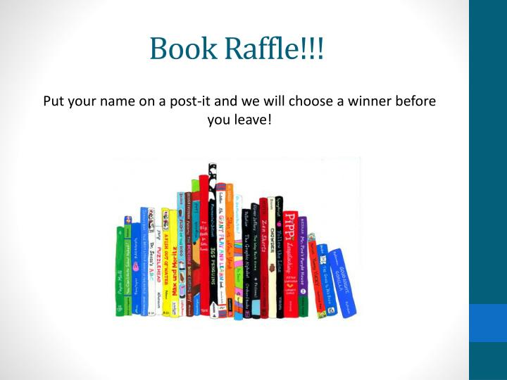 Book Raffle!!!