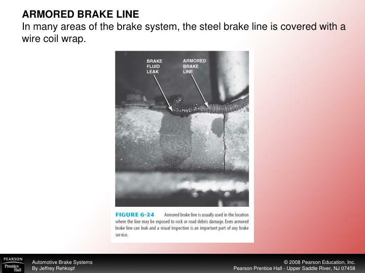ARMORED BRAKE LINE