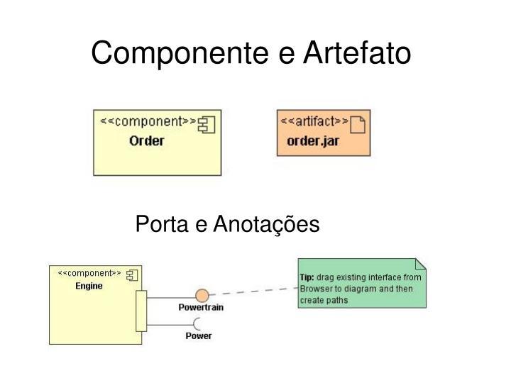 Componente e Artefato