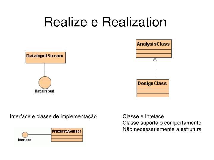 Realize e Realization