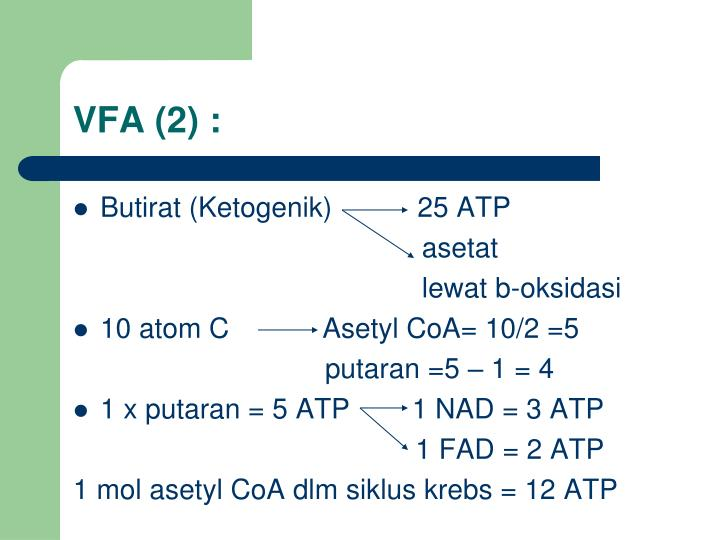 VFA (2) :