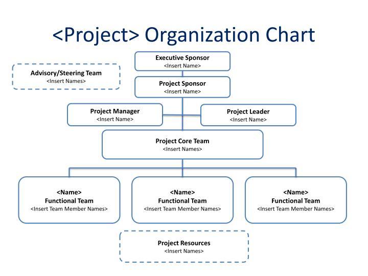 <Project> Organization Chart