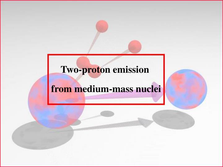 Two-proton emission