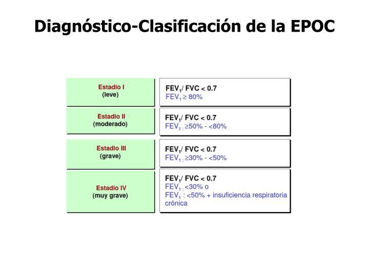 Diagnóstico-Clasificación de la EPOC