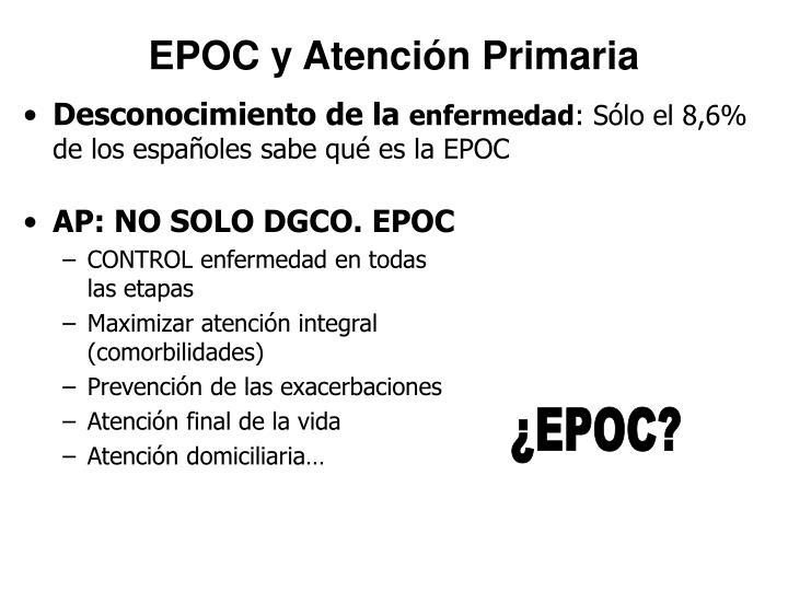 EPOC y Atención Primaria