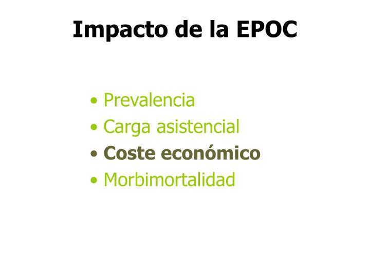 Impacto de la EPOC