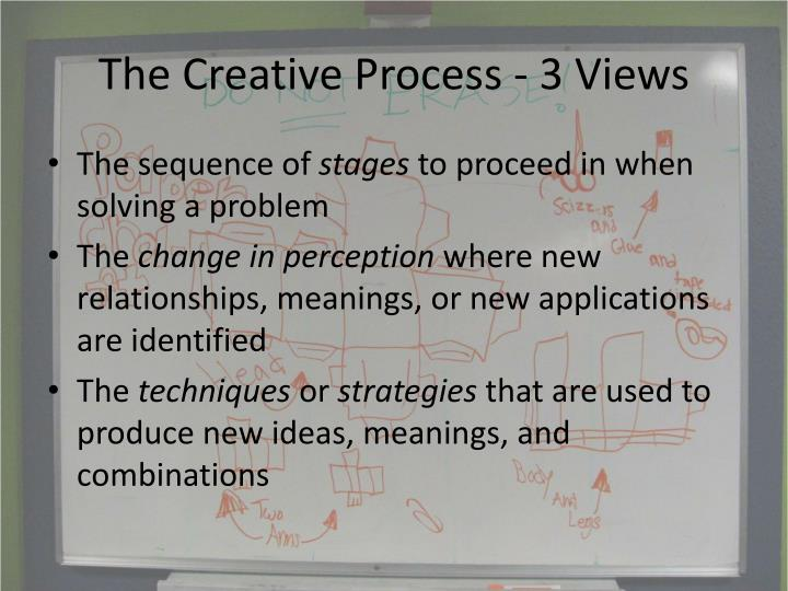 The Creative Process - 3 Views