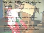 wallas model 1926 w cropley s extension 1997