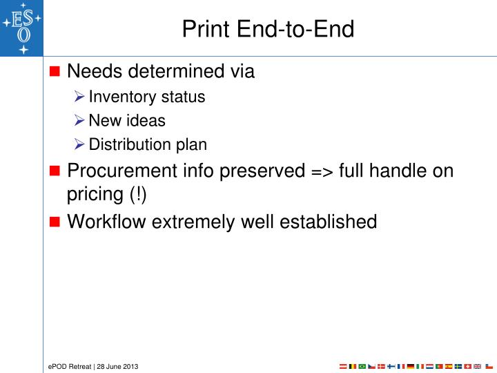 Print End-to-End